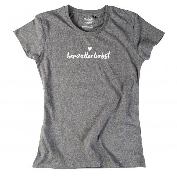 """Damen-Shirt """"herzallerliabst"""""""