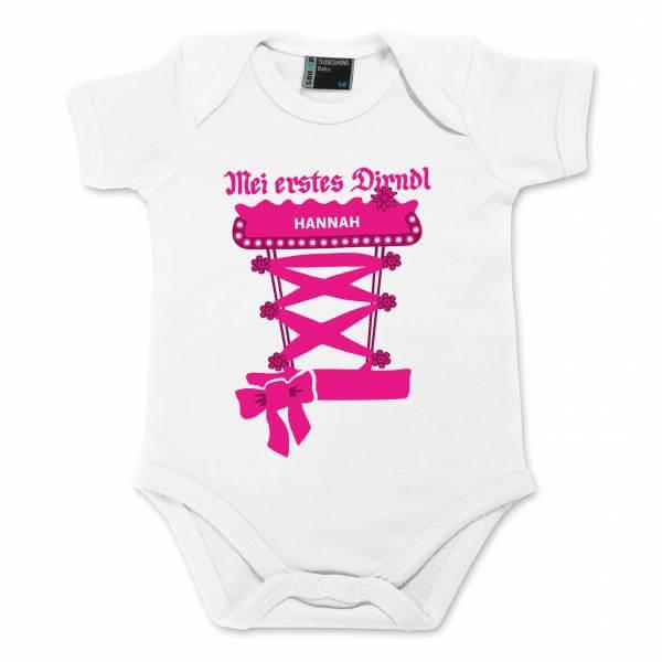 Baby Body Dirndl mit Wunschname