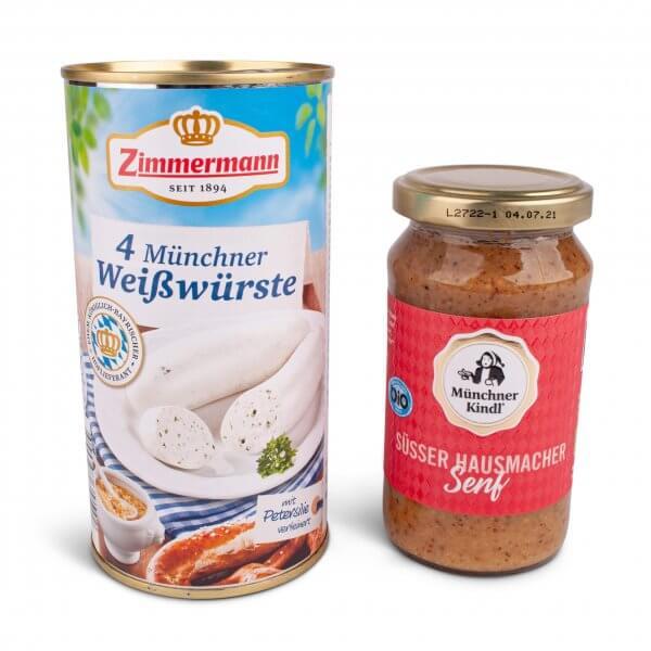 """Geschenkset """"Weißwirscht & Süßer Senf"""""""