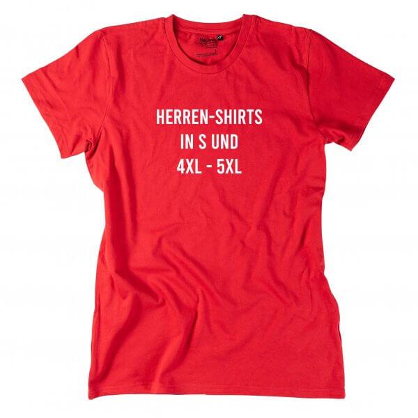 Herren-Shirt in Sondergröße