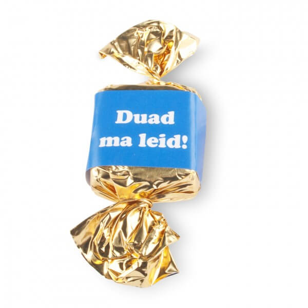 BIO Nougat-Busserl 'Duad ma leid!'