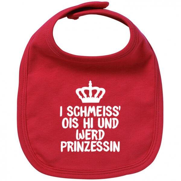 """Babylätzchen """"Prinzessin"""""""