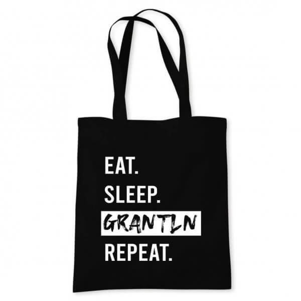 "Tasche ""Eat. Sleep. Grantln. Repeat."""