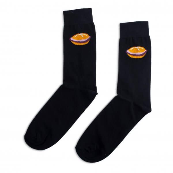 """Socken """"Leberkäs-Semmel"""""""