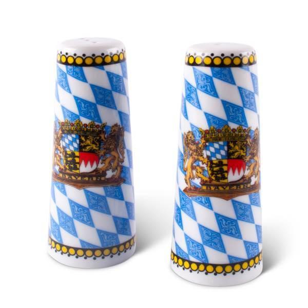 """Salz- & Pfefferstreuer """"Raute"""""""