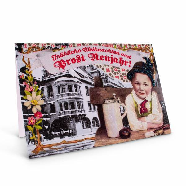 """Weihnachtskarte """"Prost Neujahr!"""""""
