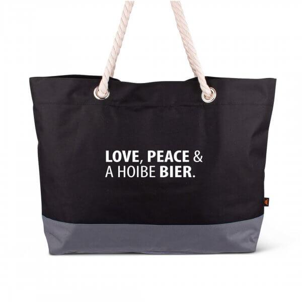"Strandtasche ""Love & Peace"""