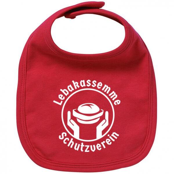 "Babylätzchen ""Leberkas-Semme-Schutzverein"""