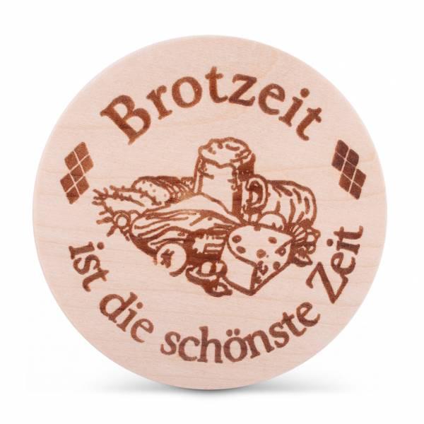 """Bierglasdeckel """"Brotzeit ist die schönste Zeit"""""""