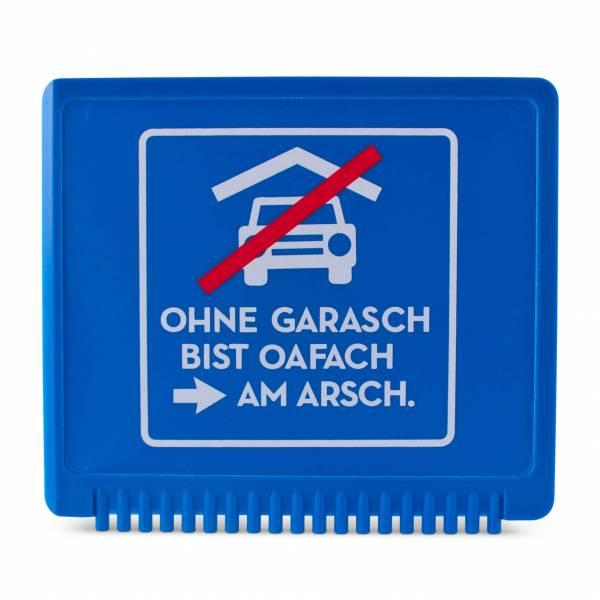 """Eiskratzer """"Ohne Garasch"""""""