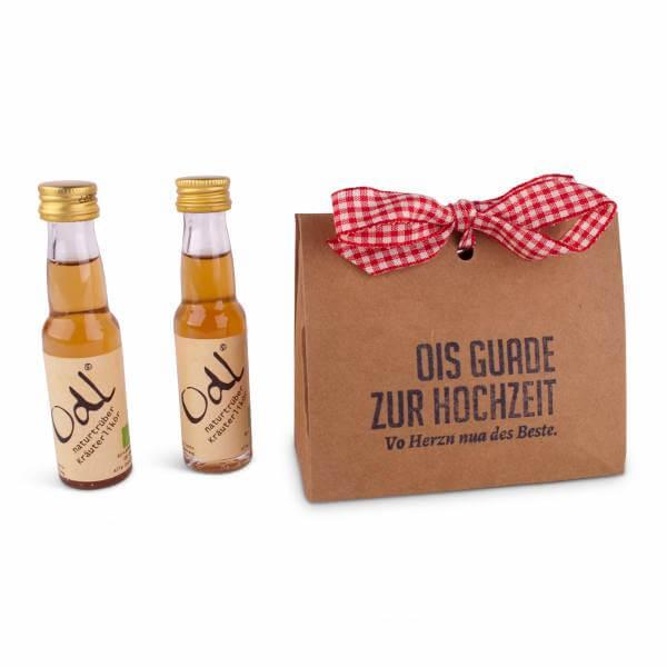 """Geschenkpackerl """"Odl"""" Hochzeit"""