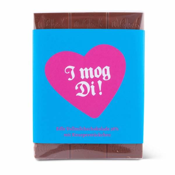 """Bayrische Schokolade """"I mog Di"""""""