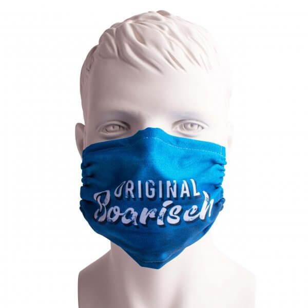 """Bayrische Mund-Nasen-Maske """"Original boarisch"""""""