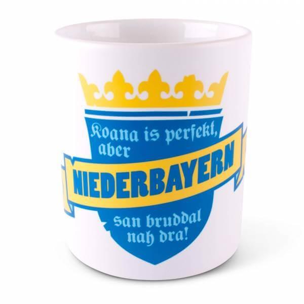 """Tasse """"Koana is perfekt"""" Niederbayern"""