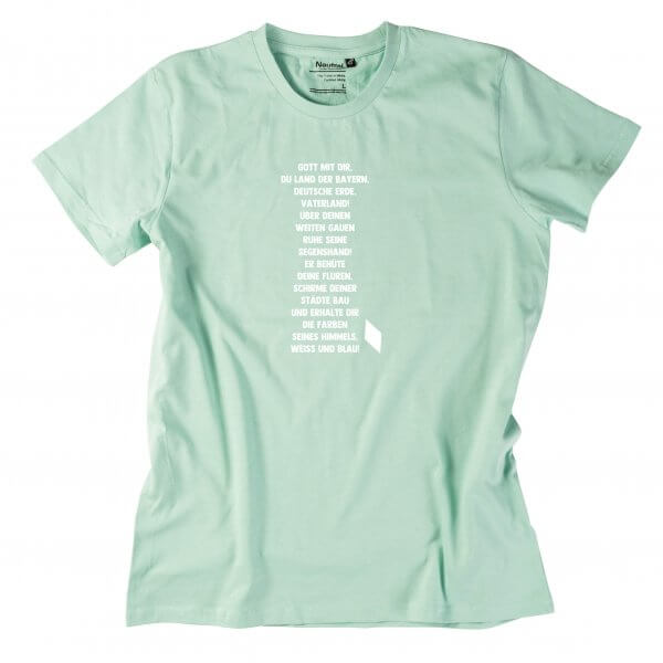 """Herren-Shirt """"Bayernhymne"""""""