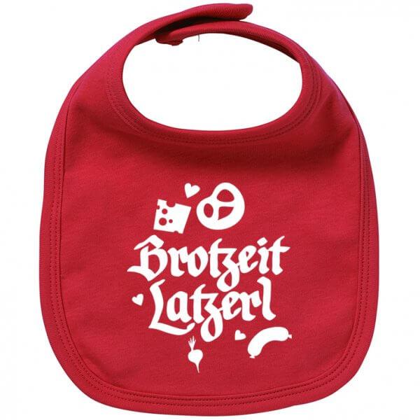 """Babylätzchen """"Brotzeit Latzerl"""""""