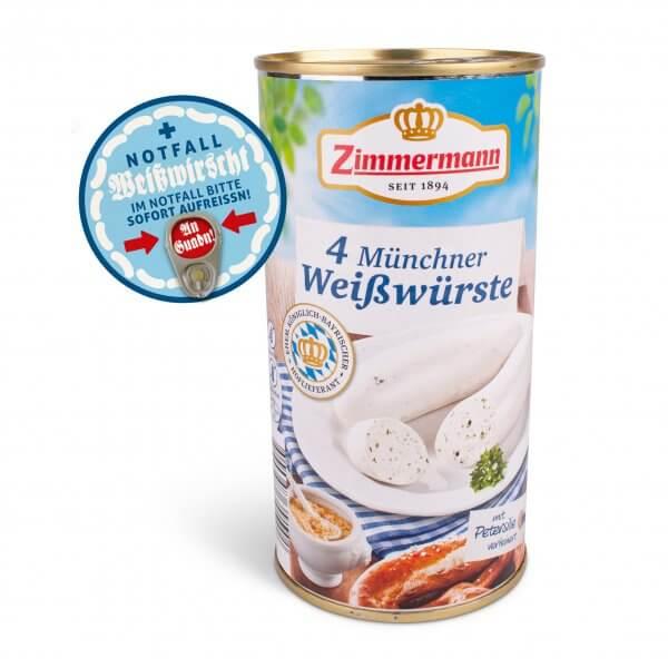 Notfall-Weißwirscht (4 Stück)