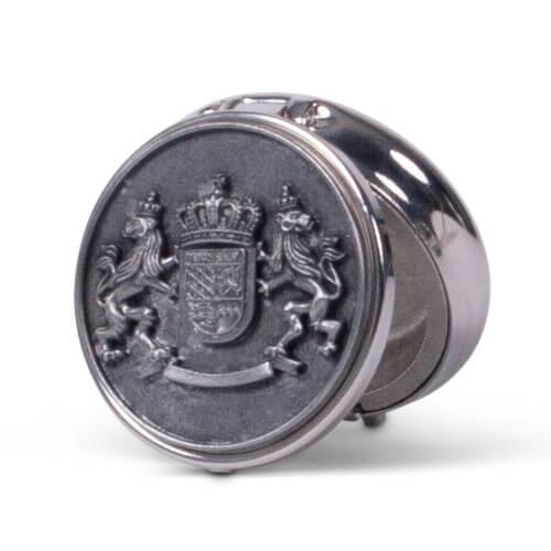 Schnupftabakdose mit Wappen