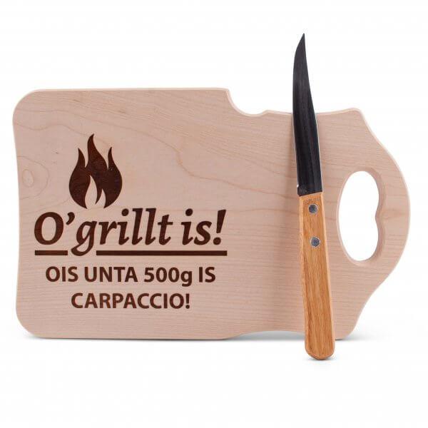 """Brotzeitbrettl """"O'grillt is!"""""""