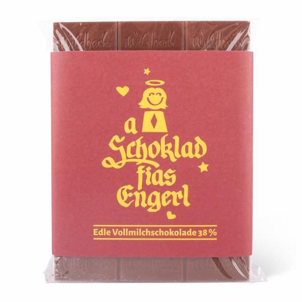 """Schokolade """"A Schokolad fias Engerl"""""""