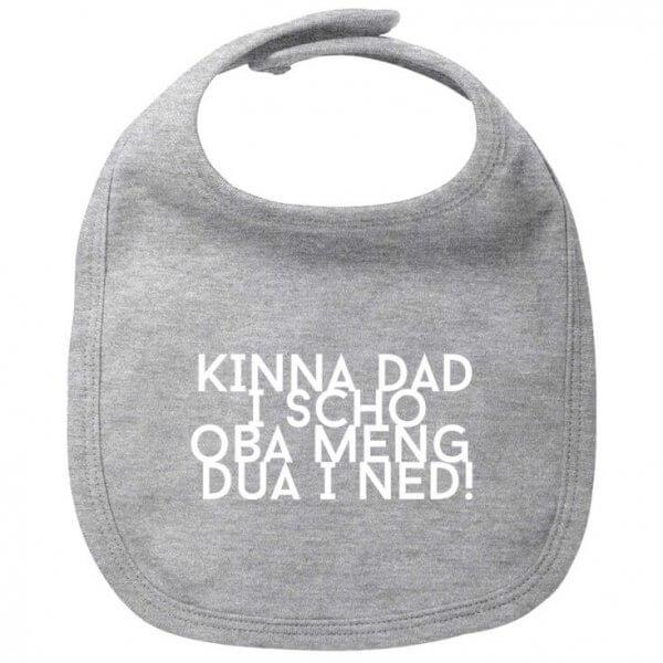 """Babylätzchen """"Kinna dad i scho"""""""