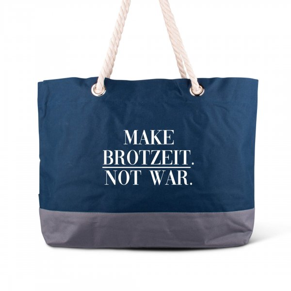 "Strandtasche ""Make Brotzeit"""