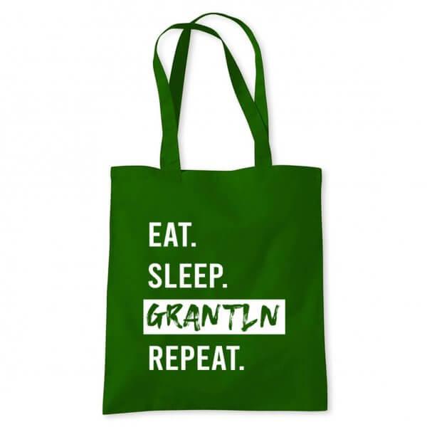 """Tasche """"Eat. Sleep. Grantln. Repeat."""""""