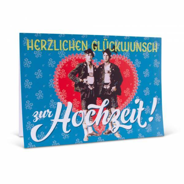 """Glückwunschkarte """"Zur Hochzeit"""""""