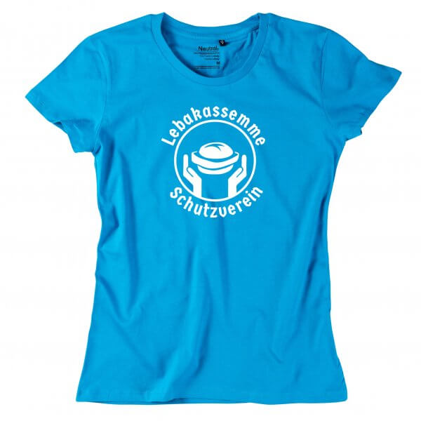 """Damen-Shirt """"Leberkassemme Schutzverein"""""""