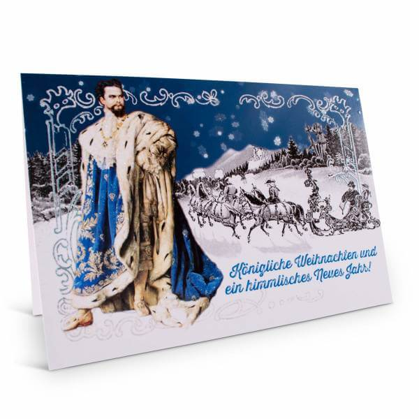 """Weihnachtskarte """"Königliche Weihnachten"""""""