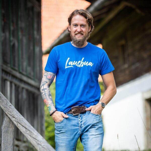 """Herren-Shirt """"Lausbua"""""""