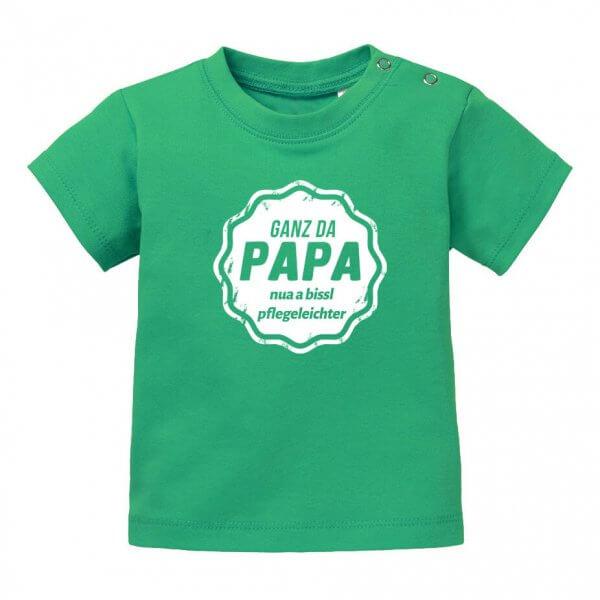 """Baby T-Shirt """"Ganz da Papa!"""""""