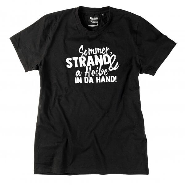 """Herren-Shirt """"Sommer & Strand"""""""