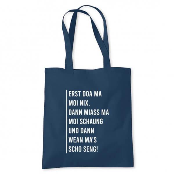 "Tasche ""Erst doa ma moi nix"""