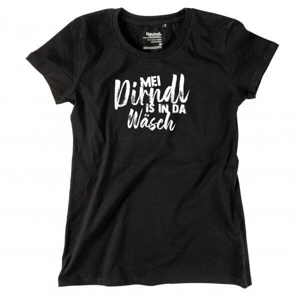 "Damen-Shirt ""Mei Dirndl is in da Wäsch"""
