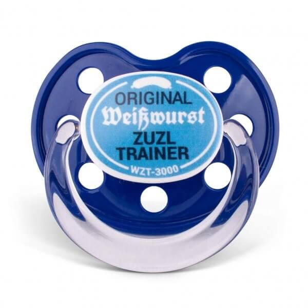"Dizzl ""Weisswurst Zuzl Trainer"" blau"