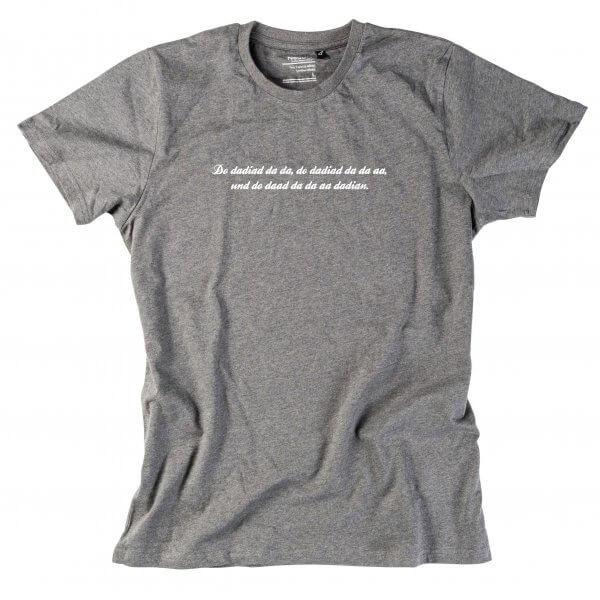 """Herren-Shirt """"Do dadiad da da"""""""