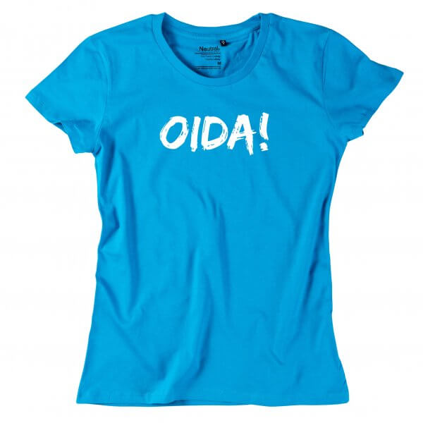 "Damen-Shirt ""OIDA!"""