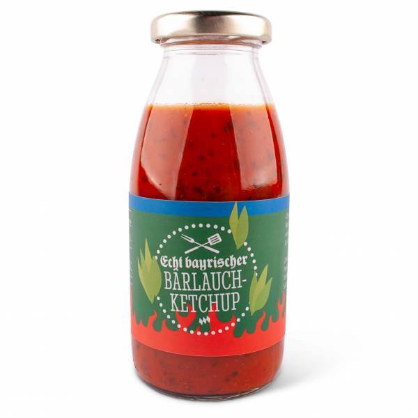 Bayrischer Bärlauch Ketchup
