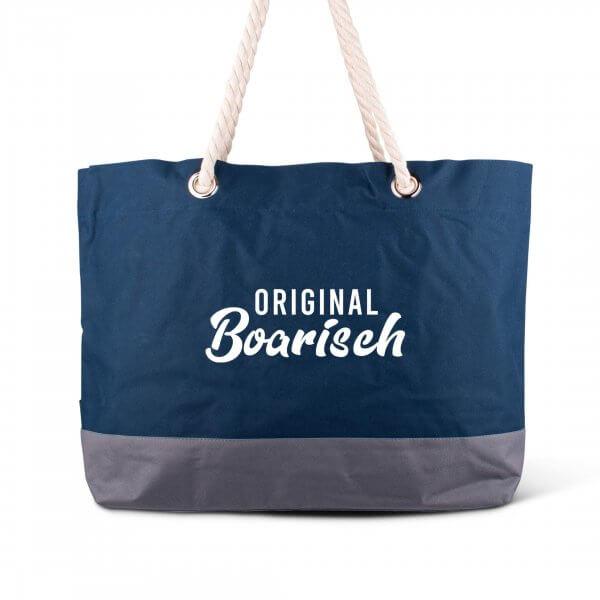 """Strandtasche """"Original boarisch"""""""