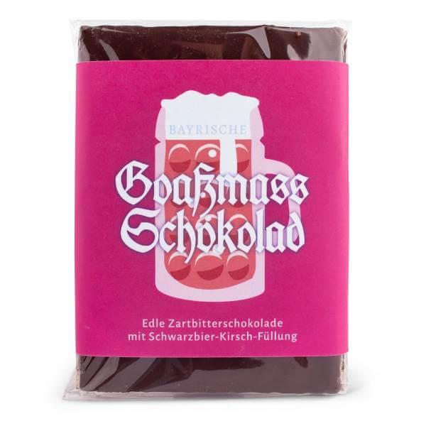 Bayrische Goaßmass Schokolad