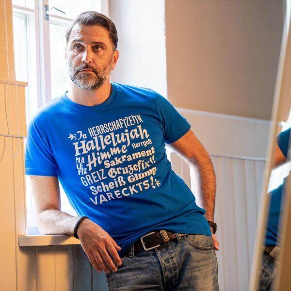 """Herren-Shirt """"Hallelujah"""""""