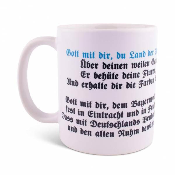 """Tasse """"Bayernhymne"""""""