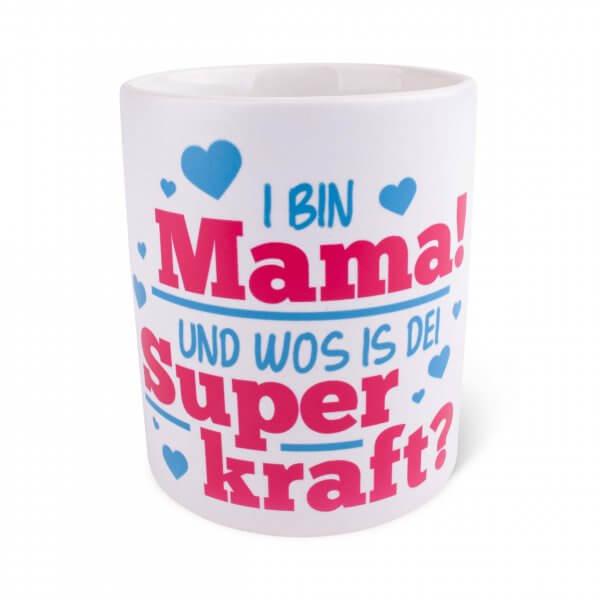 """Tasse """"Mama mit Superkraft"""""""