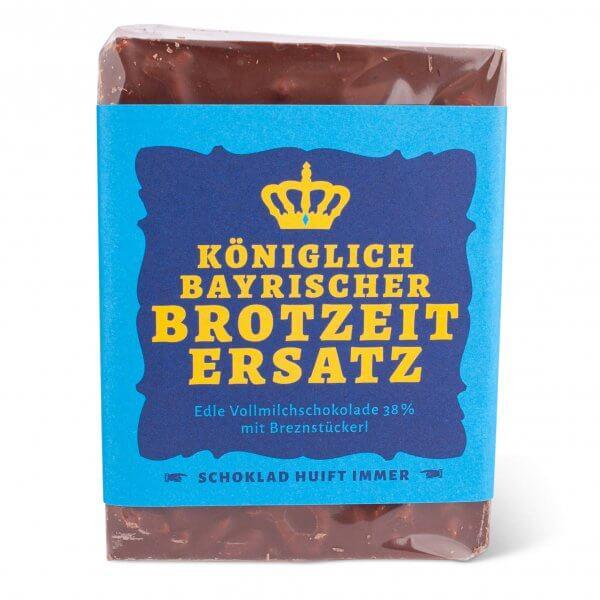 """Schokolade """"Königlich bayrischer Brotzeit Ersatz"""""""