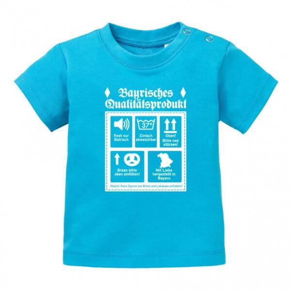 """Baby T-Shirt """"Qualitätsprodukt"""""""