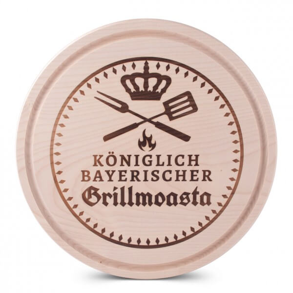 Brotzeitbrettl 'Grillmoasta'